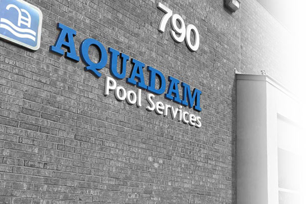 Aquadam Pool Services on Redwood Square in Oakville