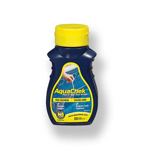 AquaChek Yellow 4-in-1 Chlorine Test