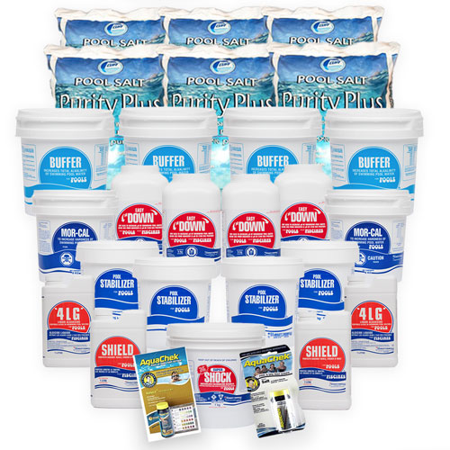 Mursatt Salt WaterCare Package - 100,000L