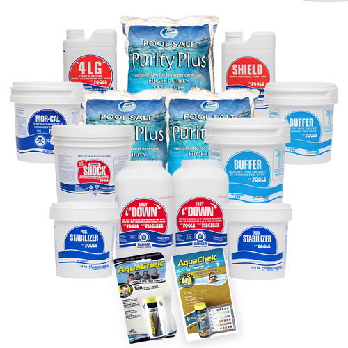 Mursatt Salt WaterCare Package - 50,000L
