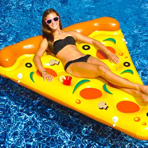 Swimline Inflatable Pool Pizza Slice